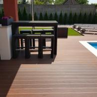 Drevoplastový obklad k bazénu (2)