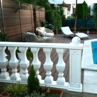 Drevoplastový obklad k bazénu, drevoplastový plot (26)