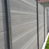 Drevoplastový plot (62)